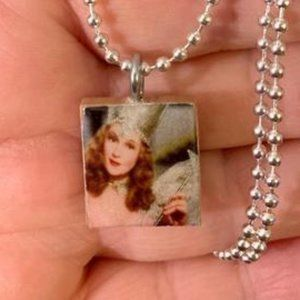 Are You A Good Witch Scrabble Tile Necklace